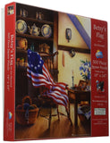 SunsOut 39151 500 Piece Betsy's Flag Art and Craft Product - Chickadee Solutions - 1