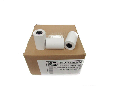 "2 1/4"" x 50' Thermal Roll / Simplicity BPA Free (50 Rolls) - Chickadee Solutions - 1"