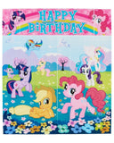 American Greetings My Little Pony Scene Setter Room Decoration - Chickadee Solutions - 1