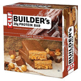 Clif Builders Bar Protein Food Bar Chocolate Hazelnut 6 Count - Chickadee Solutions