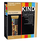 KIND Bars Caramel Almond and Sea Salt Gluten Free 1.4 Ounce Bars 12 Count - Chickadee Solutions - 1