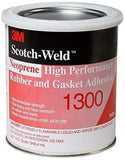 3M 1300 Yellow Neoprene High Performance Rubber and Gasket Adhesive 1 Quart - Chickadee Solutions