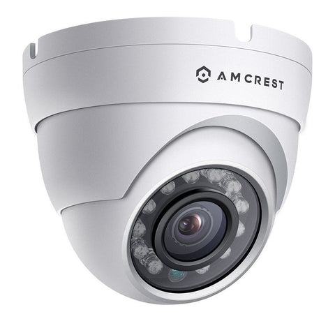 Amcrest ProHD Outdoor 1080P POE Dome IP Security Camera - IP67 Weatherproof 1... - Chickadee Solutions - 1
