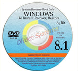 "NEW WINDOWS 8.1 ANY Version 64 Bit ""HOME"" SAME AS ""CORE"" - Repair Recovery Re... - Chickadee Solutions"