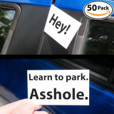 Witty Yeti's Bad Parking Business Cards 5x 18+ Designs 50 Note Pack. Shame th... - Chickadee Solutions - 1