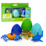 Animal Planet Grow Eggs- Sea- Hatch and Grow Three Different Super-sized Ocea... - Chickadee Solutions - 1