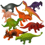 "Prextex Realistic Looking 7"" Dinosaurs Pack of 12 Large Plastic Assorted Dino... - Chickadee Solutions - 1"