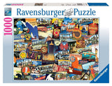 Ravensburger Road Trip USA - 1000 Piece Puzzle - Chickadee Solutions