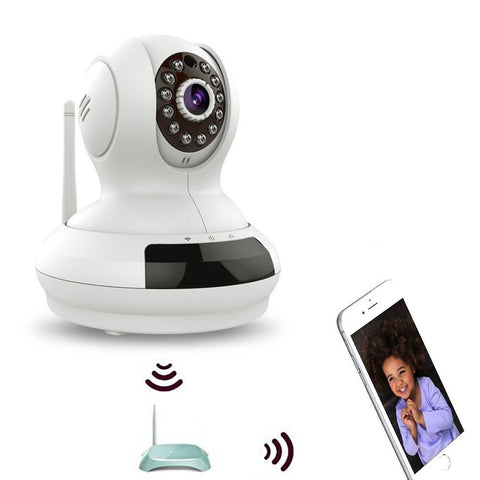 WiFi IP Security CameraWireless Baby MonitorPet Camera w/ 2 Way Audio Talkbac... - Chickadee Solutions - 1