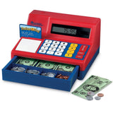 Learning Resources Pretend & Play Calculator Cash Register Regular Standard P... - Chickadee Solutions - 1