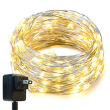 String LightsOak Leaf 33ft LED Starry Lights With UL Certified 3V Power Adapt... - Chickadee Solutions - 1