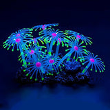 Glowing Effect Artificial Coral Plant for Fish Tank Decorative Aquarium Ornam... - Chickadee Solutions - 1