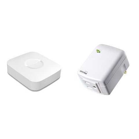 Samsung SmartThings Hub and Leviton Plug-in Outlet Bundle - Chickadee Solutions
