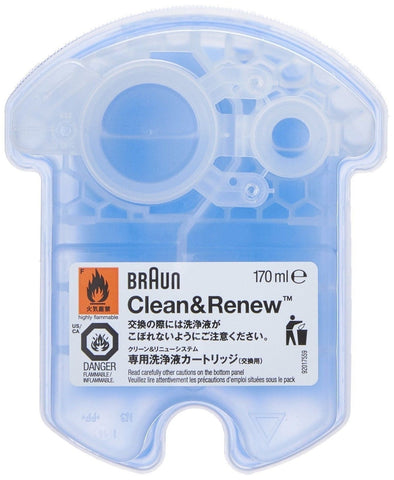 Braun Clean and Renew 4 Pack Cartridge Refill Replacement Cleaner Cleaning So... - Chickadee Solutions - 1
