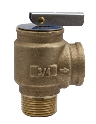 Apollo Valve 10-400 Series Bronze Safety Relief Valve ASME Hot Water 50 psi S... - Chickadee Solutions