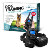"Remote-Controlled Dog Shock Collar ""Lifetime Replacement Guarantee"" - 1200 FT... - Chickadee Solutions - 1"