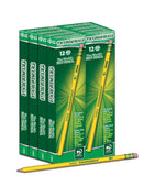 Dixon Ticonderoga Wood-Cased #2 HB Pencils Box of 96 Yellow (13872) Pack of 96 - Chickadee Solutions - 1