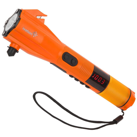 Ivation 9-in-1 Dynamo Rainproof AM/FM Radio LED Flashlight SOS Strobe SOS Sir... - Chickadee Solutions - 1