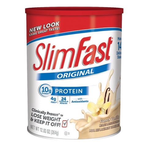 Slim Fast Original Meal Replacement Shake Mix French Vanilla 12.83 Ounce (Pac... - Chickadee Solutions - 1