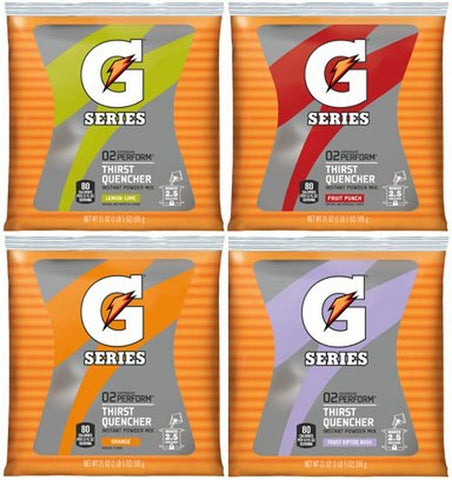 Gatorade 03944 Original Powdered Drink Mix Variety Pack 21oz Packets 32/Carton - Chickadee Solutions - 1