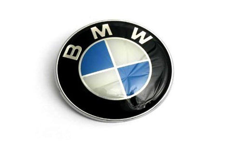 82mm BMW Trunk Hood Emblem Roundel Logo - Chickadee Solutions