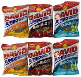 David Jumbo Sunflower Seeds 5.25 oz Packages Variety Bundle (Pack of 6) - Chickadee Solutions - 1