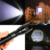 2500 Lumen Zoomable Cree XML T6 LED 18650 Flashlight Focus Torch Lamp Adjusta... - Chickadee Solutions - 1