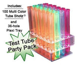Test Tube Party Pack-100 Tube SHOTZ 36-hole rack - Chickadee Solutions