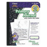 Mead MEA09956 Primary Journal K-2nd Grade 7-1/2 X 9-3/4 in - Chickadee Solutions