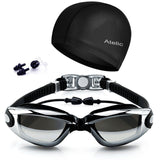 #1 Rated Swim Goggles On Amazon - 2016 Atelic Best Swimming Goggles Swim Cap ... - Chickadee Solutions - 1