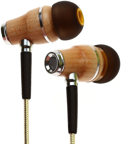 Symphonized NRG 2.0 Premium Genuine Wood In-ear Noise-isolating Headphones|Ea... - Chickadee Solutions - 1