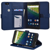 Nexus 6P Case Abacus24-7 Google Nexus 6P Wallet Case Leather Flip Cover Card ... - Chickadee Solutions - 1