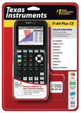 Texas Instruments TI-84 Plus CE Graphing Calculator Black Standard Packaging - Chickadee Solutions - 1