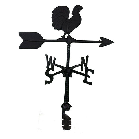 Montague Metal Products 24-Inch Weathervane with Rooster Ornament - Chickadee Solutions