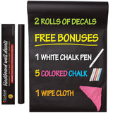 Colore Blackboard Wall Decals - Premium Vinyl Contact Paper For Restaurant Me... - Chickadee Solutions - 1