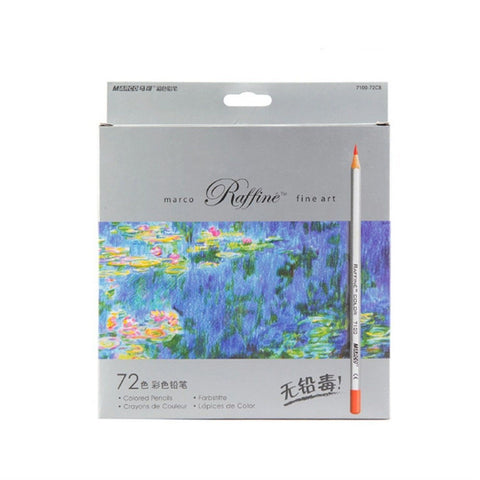 72-color Raffine Marco Fine Art Colored Pencils/ Drawing Pencils for Sketch/ ... - Chickadee Solutions - 1