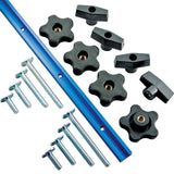 17-Piece Universal T-Track Kit - Chickadee Solutions - 1