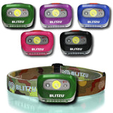 Brightest LED Headlamp with Red Light - Blitzu i2 Headlight Flashlight for Ki... - Chickadee Solutions - 1