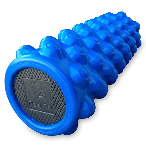 Best Exercise Foam Roller: PhysioPhit High Density Extra Firm Foam Roller wit... - Chickadee Solutions - 1