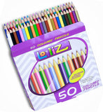 LolliZ? 50 Colored Pencils Set by LolliZ - Chickadee Solutions - 1