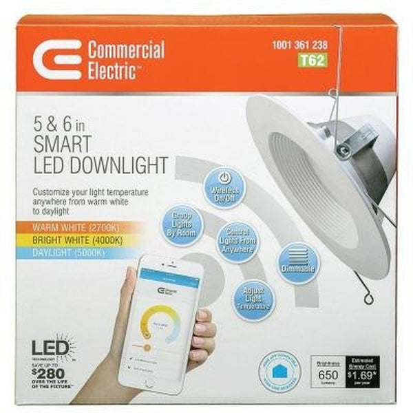 T62 Commercial Electric 5 In Or 6 In Led Smart