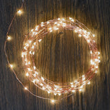 LED String Lights Oak Leaf 120 LED Outdoor Indoor Waterproof Starry String Co... - Chickadee Solutions - 1