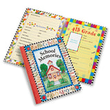 Deluxe School Memories Keepsake Photo Album Scrapbook from Preschool Through ... - Chickadee Solutions - 1