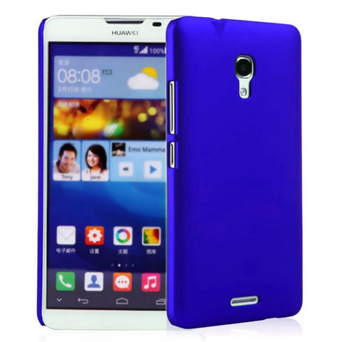 Premium Slim PC Matte Hard Case for Huawei Ascend Mate 2 4G (Blue) Fettion - Chickadee Solutions - 1