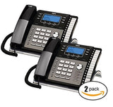 RCA ViSys 25424RE1 4-Line Expandable System Phone with Call Waiting/Caller ID - Chickadee Solutions