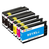 GPC Image 5 Pack Compatible Replacement for HP 950XL HP 951XL (2 Black 1Cyan ... - Chickadee Solutions - 1