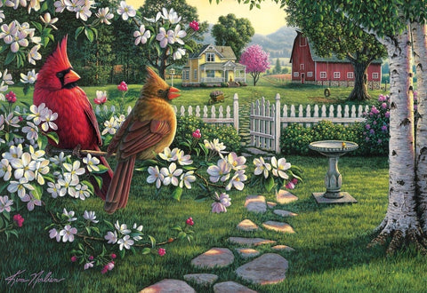 Buffalo Games Country Music by Kim Norlien Jigsaw Puzzle (2000 Piece) - Chickadee Solutions - 1