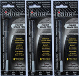 Fisher SPR4F Space Pen Ink Fine Point Refill Black 3 Pack A 1 - Pack Fisher - Chickadee Solutions
