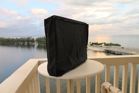 "55"" Stronghold Accessories Weatherproof Outdoor TV Cover (Scratch Resistant I... - Chickadee Solutions"