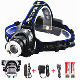Benran Waterproof LED Headlamp Headlight Rechargeable Head Flashlight Lamp wi... - Chickadee Solutions - 1